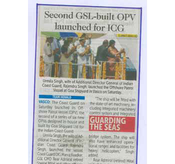 Second GSL built OPV launched for ICG