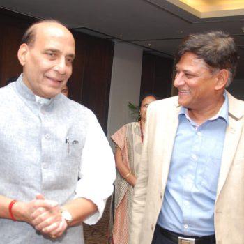 CMD meets Hon'ble Home Minister of India Shri Rajnath Singh, Sep 8, 2016