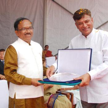 Cmd sir with Goa CM Laxmikant Parsekar