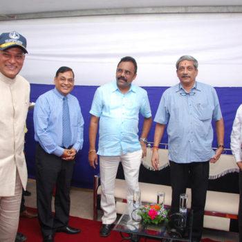 CMD sir with R M Manohar Parikar