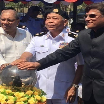 DCS facility was formally included by Myanmar Navy on 10 May 2016 at the hands of Indian Ambassador to Myanmar, H.E. Mr. Gautam Mukhopadhyay & Rear Admiral Myint Oo Commander of Navel Dockyard Headquarters and CMD, GSL. May 10, 2016.