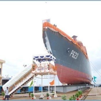 Launching SLNS Sayurala