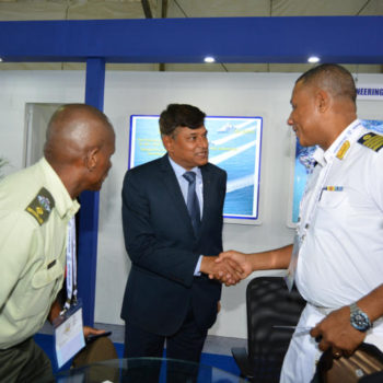 Visit of  Seychelles delegations at Defexpo 2016
