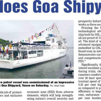 GT page no 1 for commissioing news on 13th aug 2017
