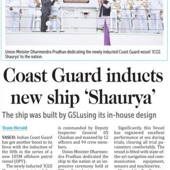 Herald page no 7 for commissioing news on 13th aug 2017