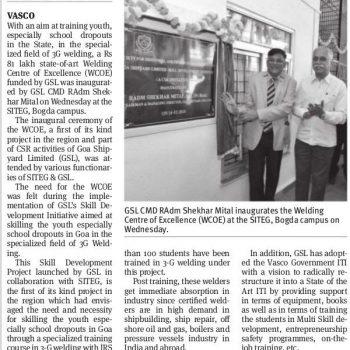 The Goan News Cutting on 15th Feb 2018