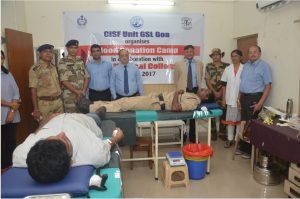 blooad donation Cisf Page Image