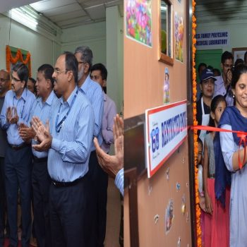 A modern & well equipped crèche-cum-day care facility for the  employees of GSL commenced operation w.e.f. 02.08.2018, fulfilling the  long pending demand of GSL employees.  RAdm Shekhar Mital NM, IN  (Retd.),Chairman & Managing Director inaugurated the cheerful–looking  facility inside GSL premises in the presence of Mr TN Sudhakar, Director  (Finance), Mr S J Kamat Director (Operations), HODs, representatives of  the Unions and Associations besides benefitted parents.