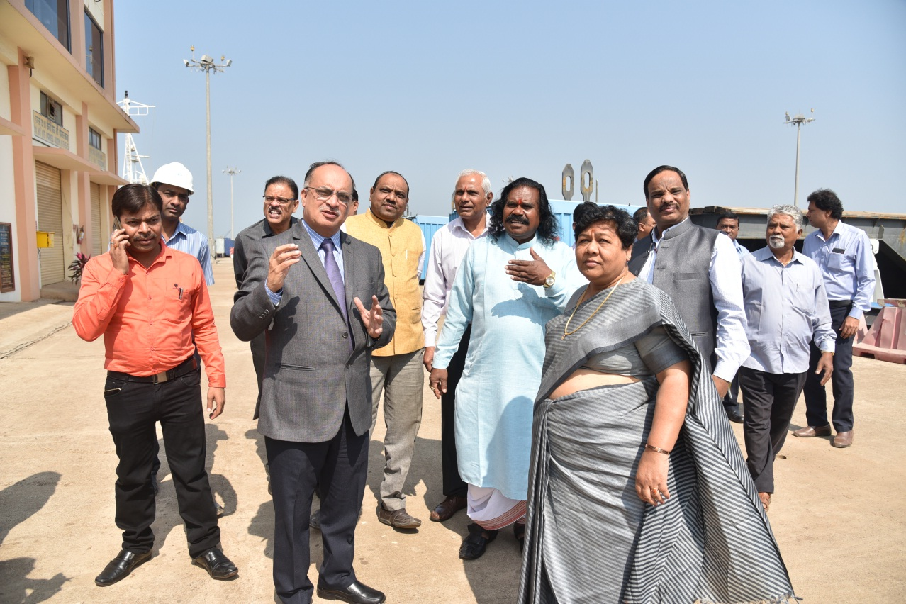 NATIONAL COMMISSION FOR SCHEDULED TRIBES VISITS GSL